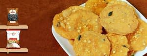Aloo and Rice Flour Crackers
