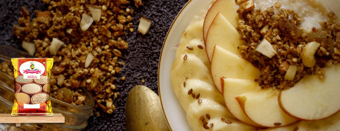 Oatemeal fruit bowl