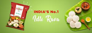 India Number one Idli Rava