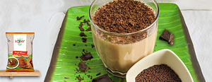 Caramel Chocolate Ragi Malt