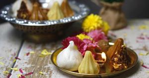 Assorted Chaturthi Modak