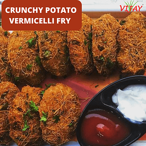 Crunchy Potato Vermicelli Fry